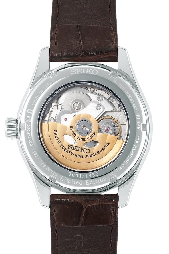 Seiko Presage Automatic 60th Anniversary Limited Edition, SARW027 movement 6R27 Introducing: The Seiko Presage Automatic 60th Anniversary Limited Edition, SARW027 Introducing: The Seiko Presage Automatic 60th Anniversary Limited Edition, SARW027 SARW027 bac