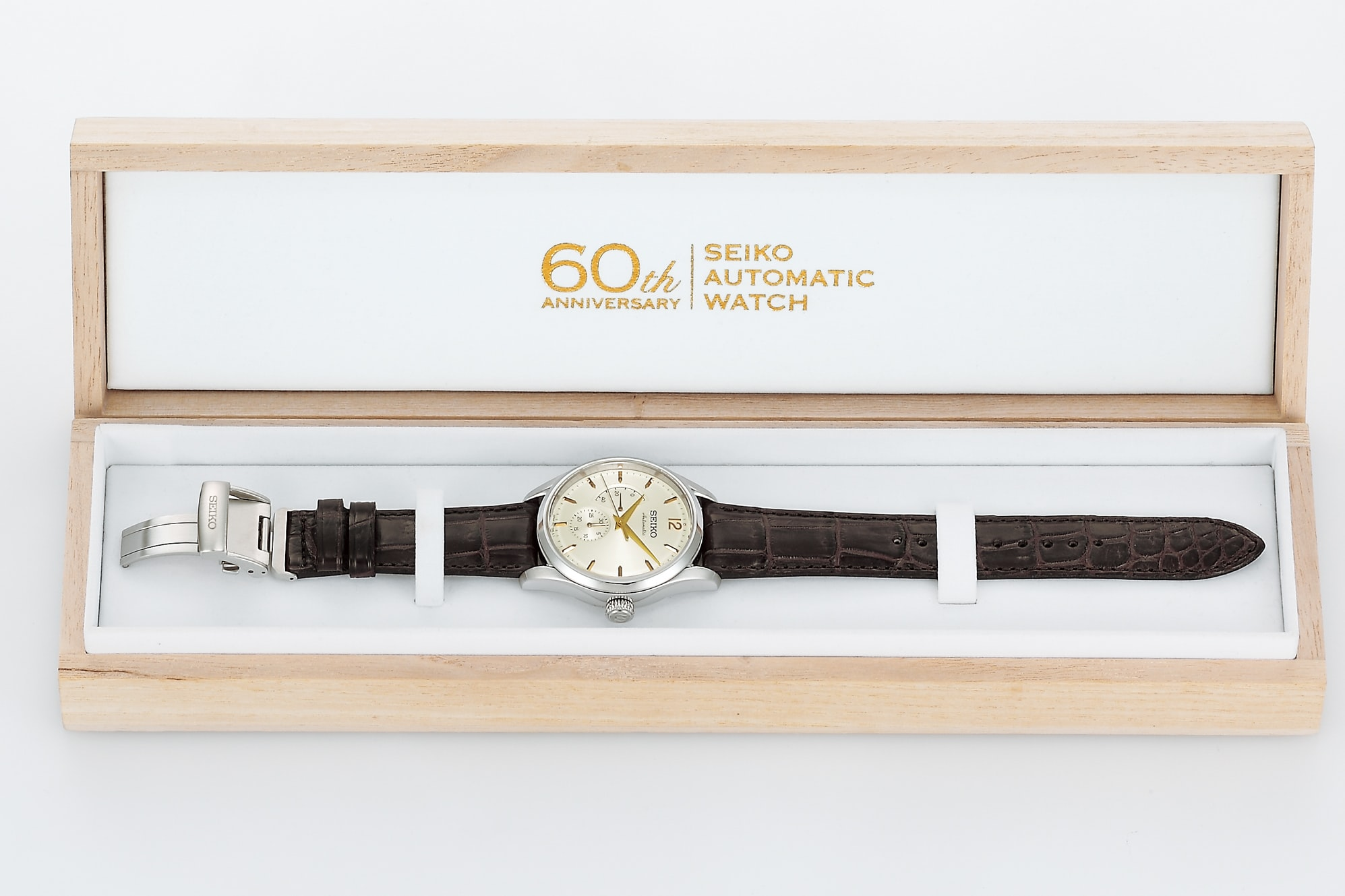 Seiko Presage Automatic 60th Anniversary Limited Edition, SARW027 box Introducing: The Seiko Presage Automatic 60th Anniversary Limited Edition, SARW027 Introducing: The Seiko Presage Automatic 60th Anniversary Limited Edition, SARW027 SARW027 box