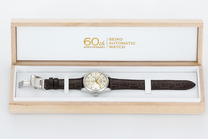 Seiko Presage Automatic 60th Anniversary Limited Edition, SARW027 box