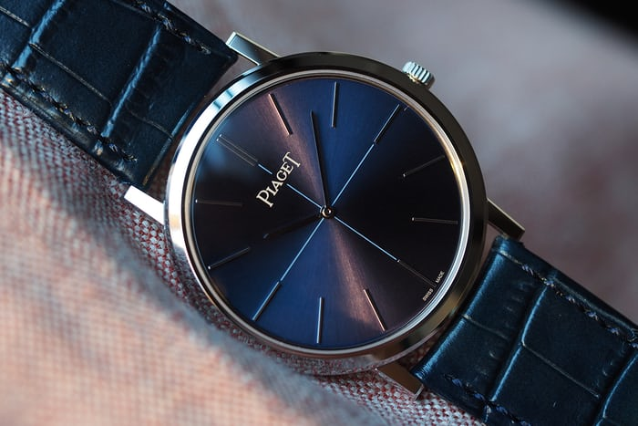 altiplano 6oth anniversary 38mm dial