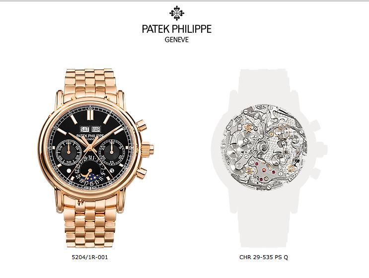 Patek Philippe 5204/1R-001