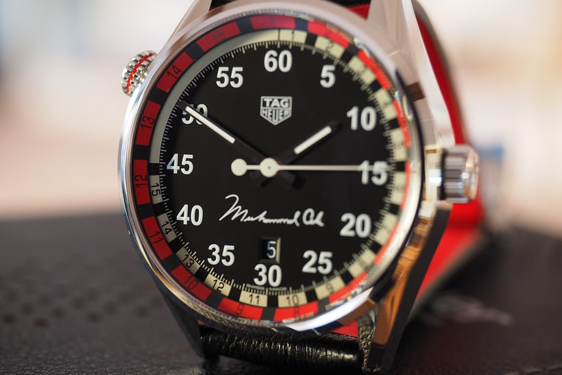 TAG Heuer Muhammad Ali Special Edition dial