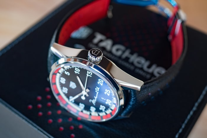 TAG Heuer Muhammad Ali Special Edition box