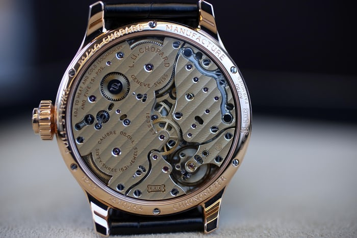 Chopard Full Strike Dial movement