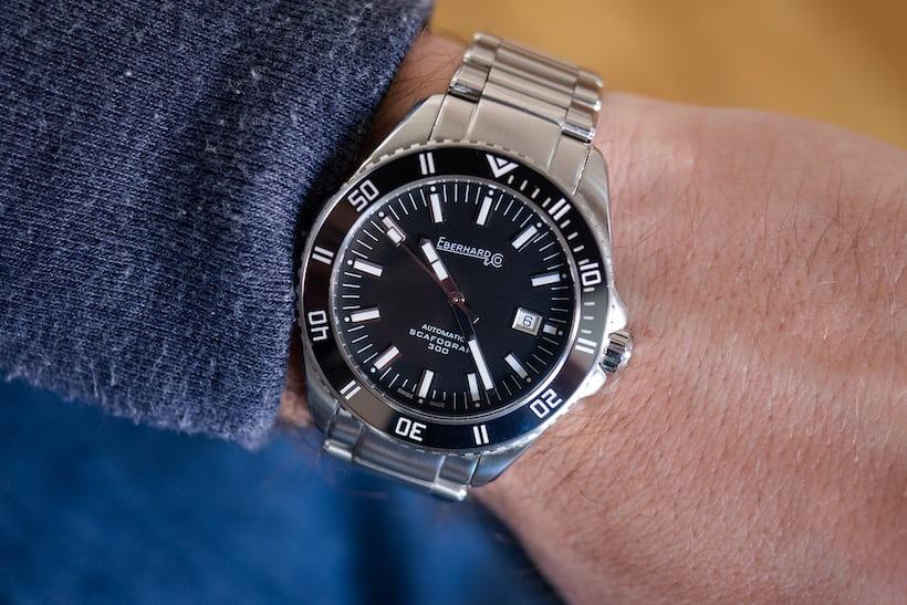 Eberhard Scafograf 300 wristshot