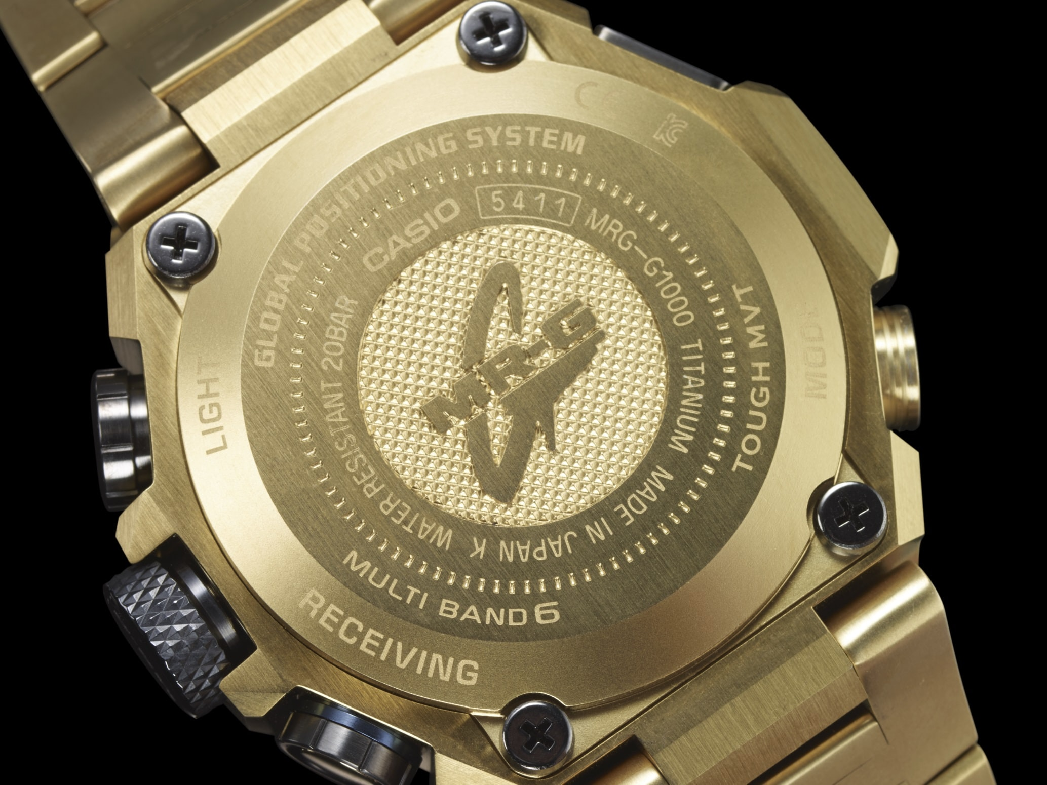 MRG-G10000HG-9A caseback Introducing: The Casio G-Shock 'Hammer Tone' MRG-G10000HG-9A In Gold, Celebrating 20 Years Of MR-G Introducing: The Casio G-Shock 'Hammer Tone' MRG-G10000HG-9A In Gold, Celebrating 20 Years Of MR-G MRG G1000HG 9A theme 7