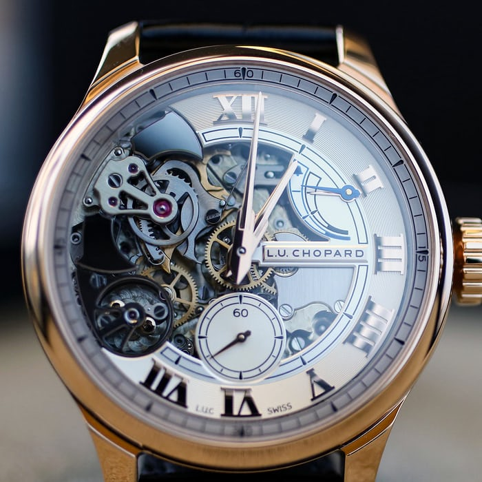 Dial side Chopard Full Strike repeater