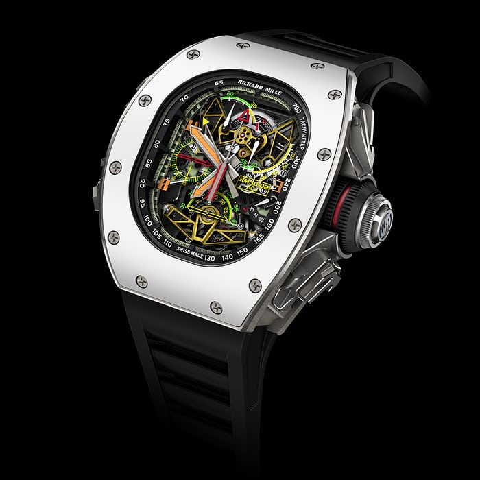Richard Mille's Tourbillon Split Seconds Chronograph RM50-02 ACJ