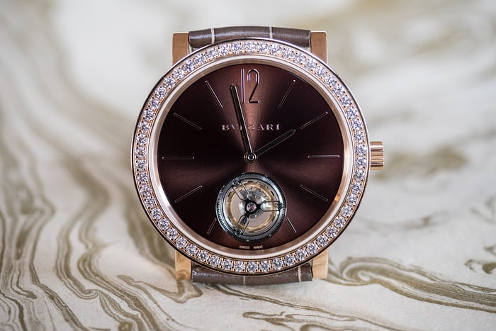 The Bulgari Lady Finissimo Tourbillon.