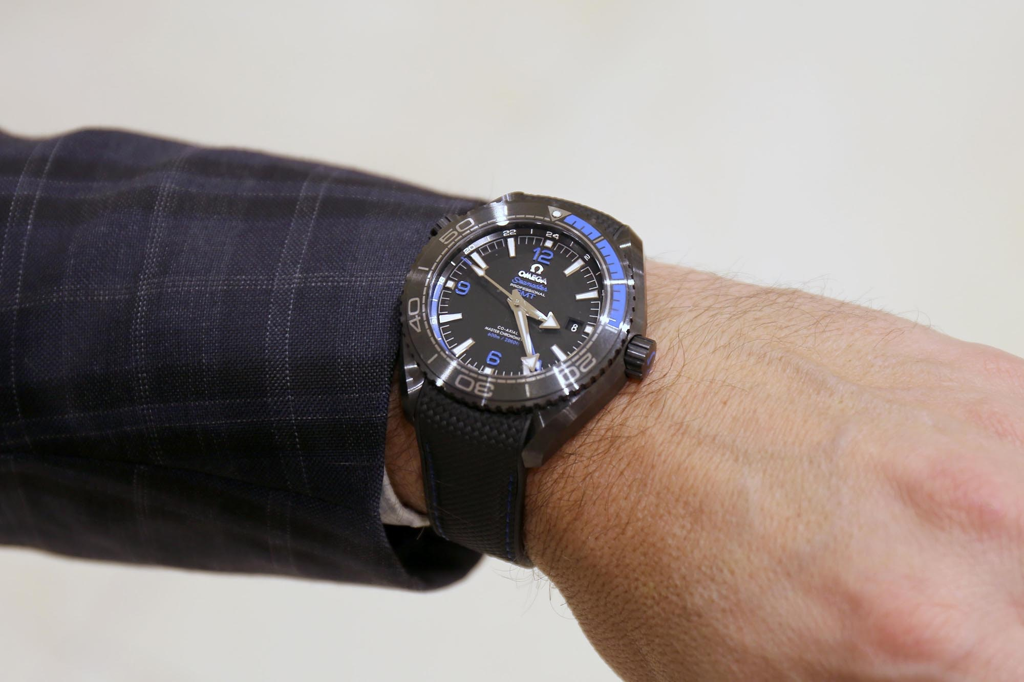 Omega Seamaster Planet Ocean GMT Deep Black Interview: Omega CEO Raynald Aeschlimann Gives Us A Look At The Future Of The Brand (And His Taste In George Clooney Movies) Interview: Omega CEO Raynald Aeschlimann Gives Us A Look At The Future Of The Brand (And His Taste In George Clooney Movies) rrrr