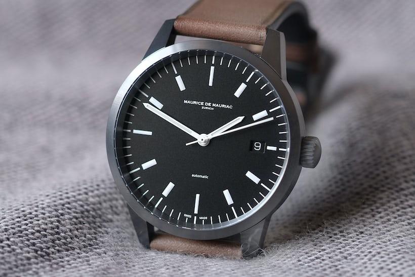 maurice de mauriac l1 dial black
