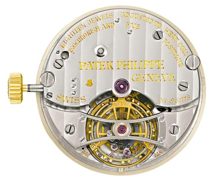 Patek Philippe 30mm observatory tourbillon ref. 3699