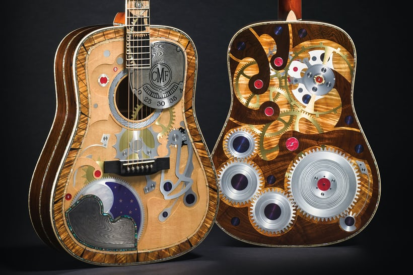 martin guitar two millionth rgm