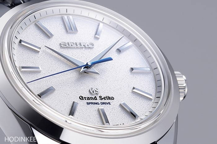 The Grand Seiko Spring Drive with 8-day power reserve.