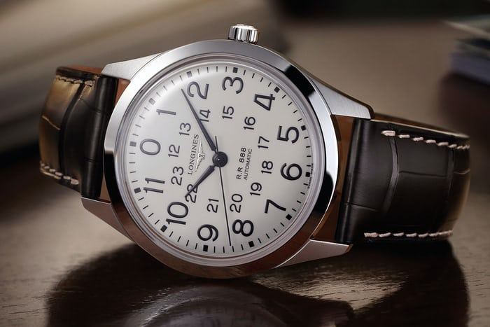 The Longines Railroad from the Heritage Collection
