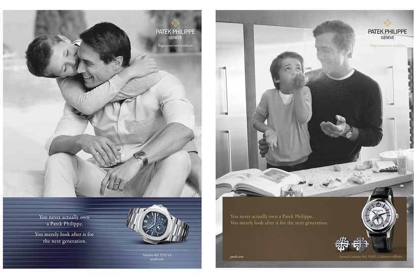 patek philippe generations advertising