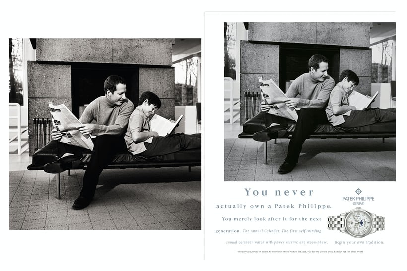 mary ellen mark patek philippe advertisement generations
