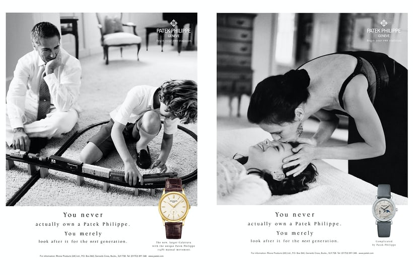 generations patek philippe men women