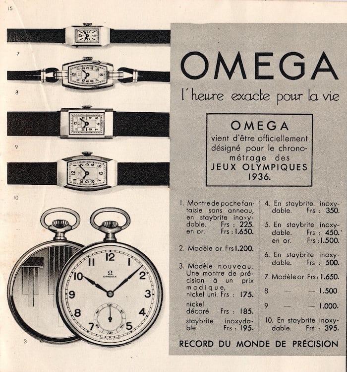 Omega precision