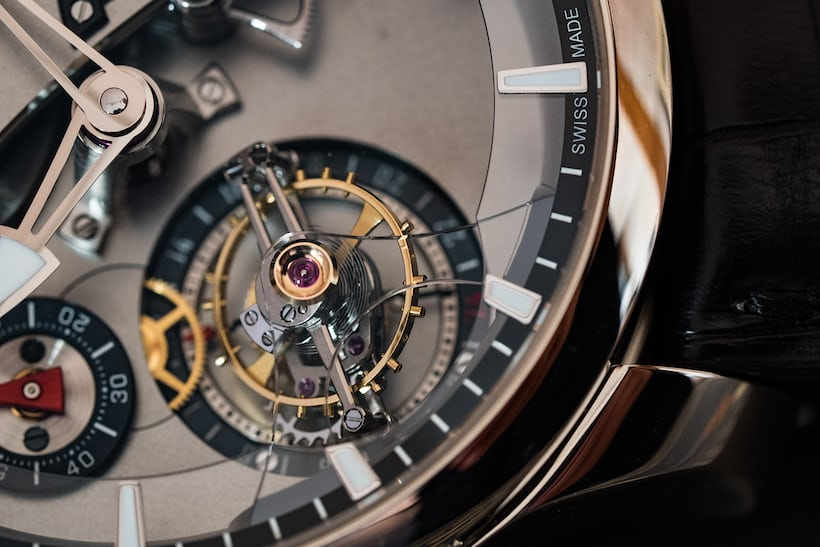 Greubel Forsey 24 Secondes Contemporain tourbillon cage