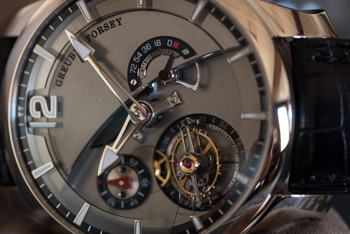 Greubel Forsey 24 Secondes Contemporain dial