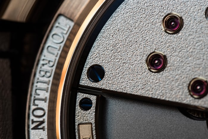 Greubel Forsey 24 Secondes Contemporain caliber GF01c