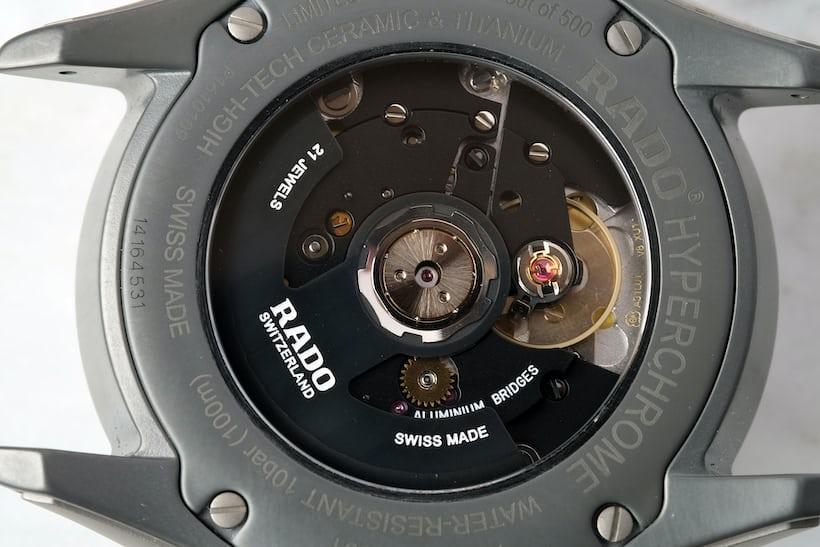 ETA A31.L01 rado hyperchrome ultra light