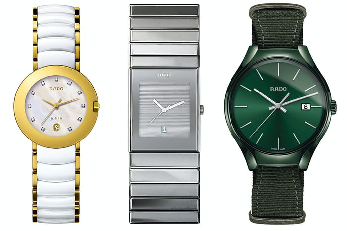rado ceramic watches history
