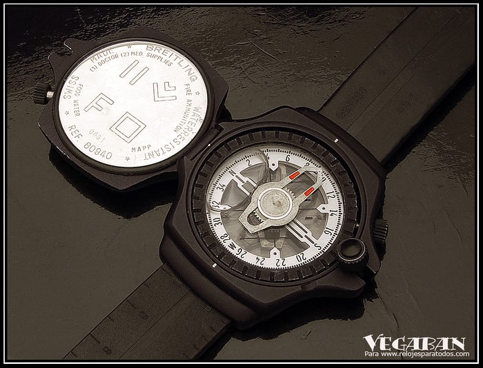 Breitling Compass caseback