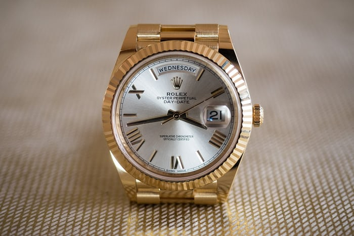 Rolex Day Date 40mm yellow gold