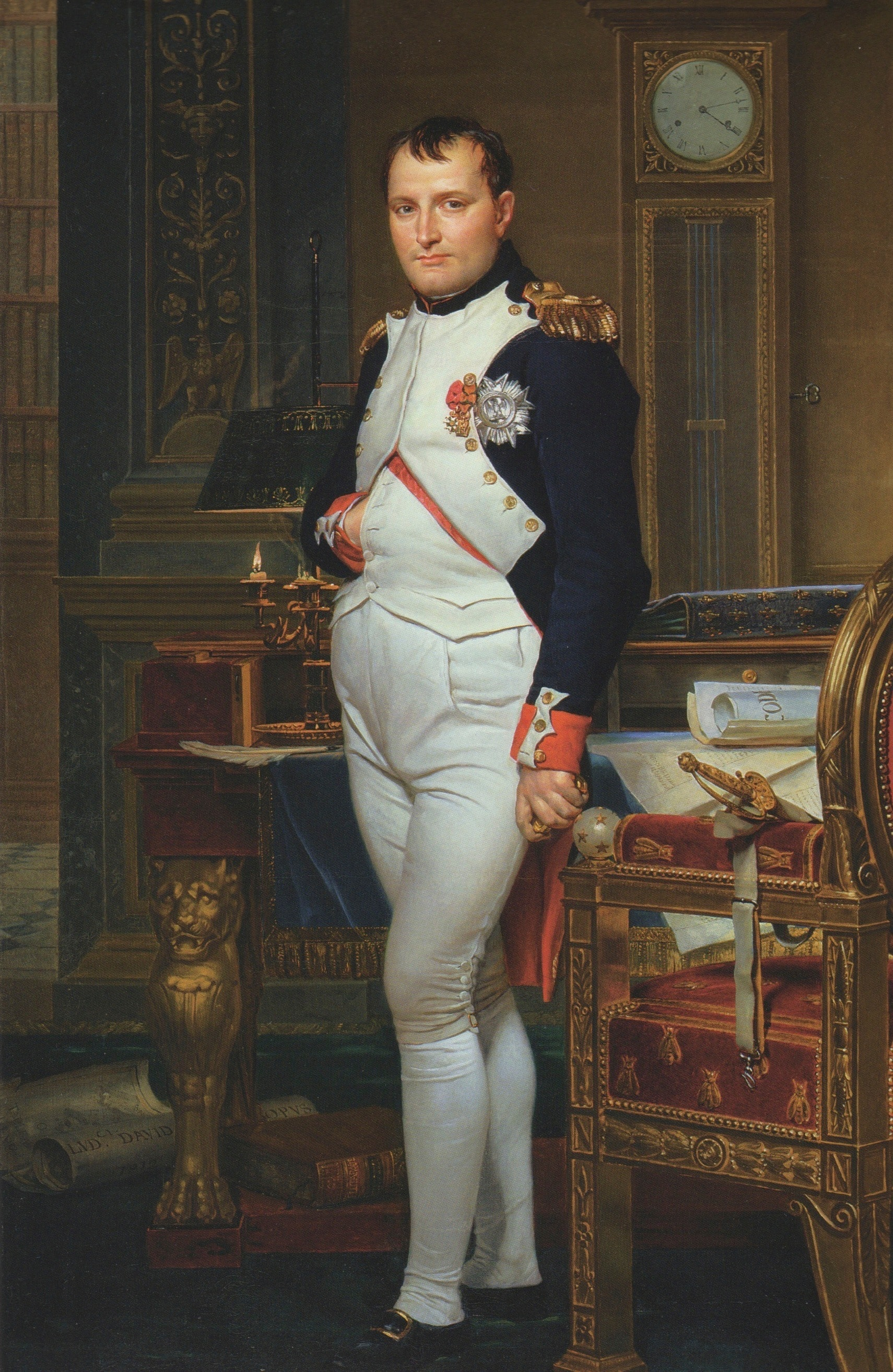Jacques-Louis David, The Emperor Napoleon in His Study at the Tuileries, 1812 Bob Frishman, Fellow Of The National Association Of Watch And Clock Collectors, To Lecture At The Horological Society Of New York Bob Frishman, Fellow Of The National Association Of Watch And Clock Collectors, To Lecture At The Horological Society Of New York Napoleon by David