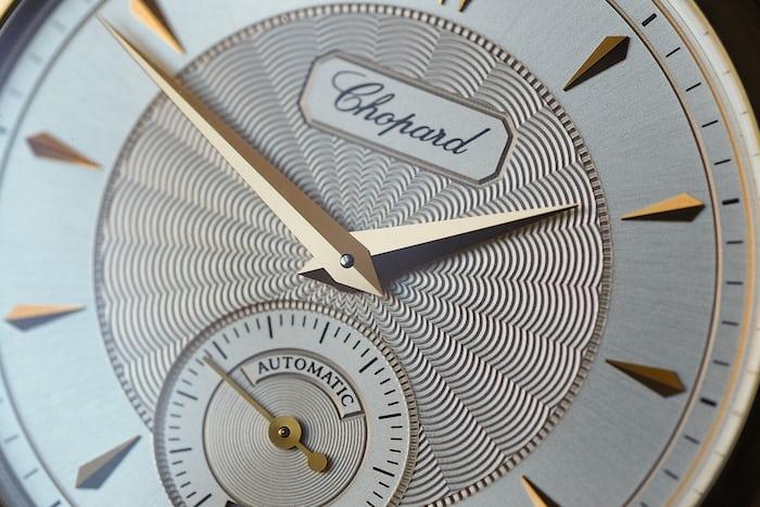 chopard LUC 1860 cal. 1.96 dial