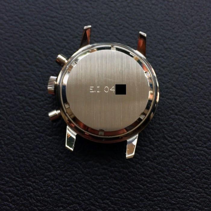 Breitling 817 caseback
