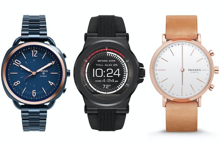 fossil group smartwatches skagen michael kors