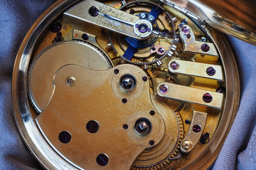 three finger bridge girard perregaux movement