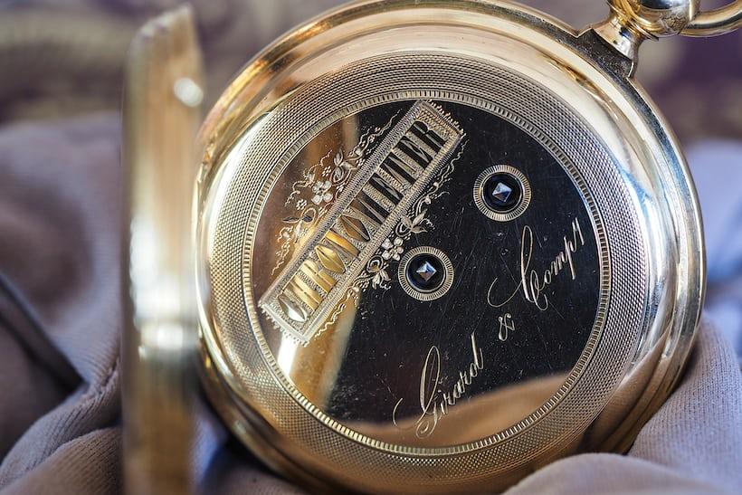 Girard-Perregaux. 1860 chronometer inner case