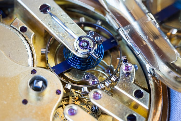 girard perregaux pivoted detent escapement