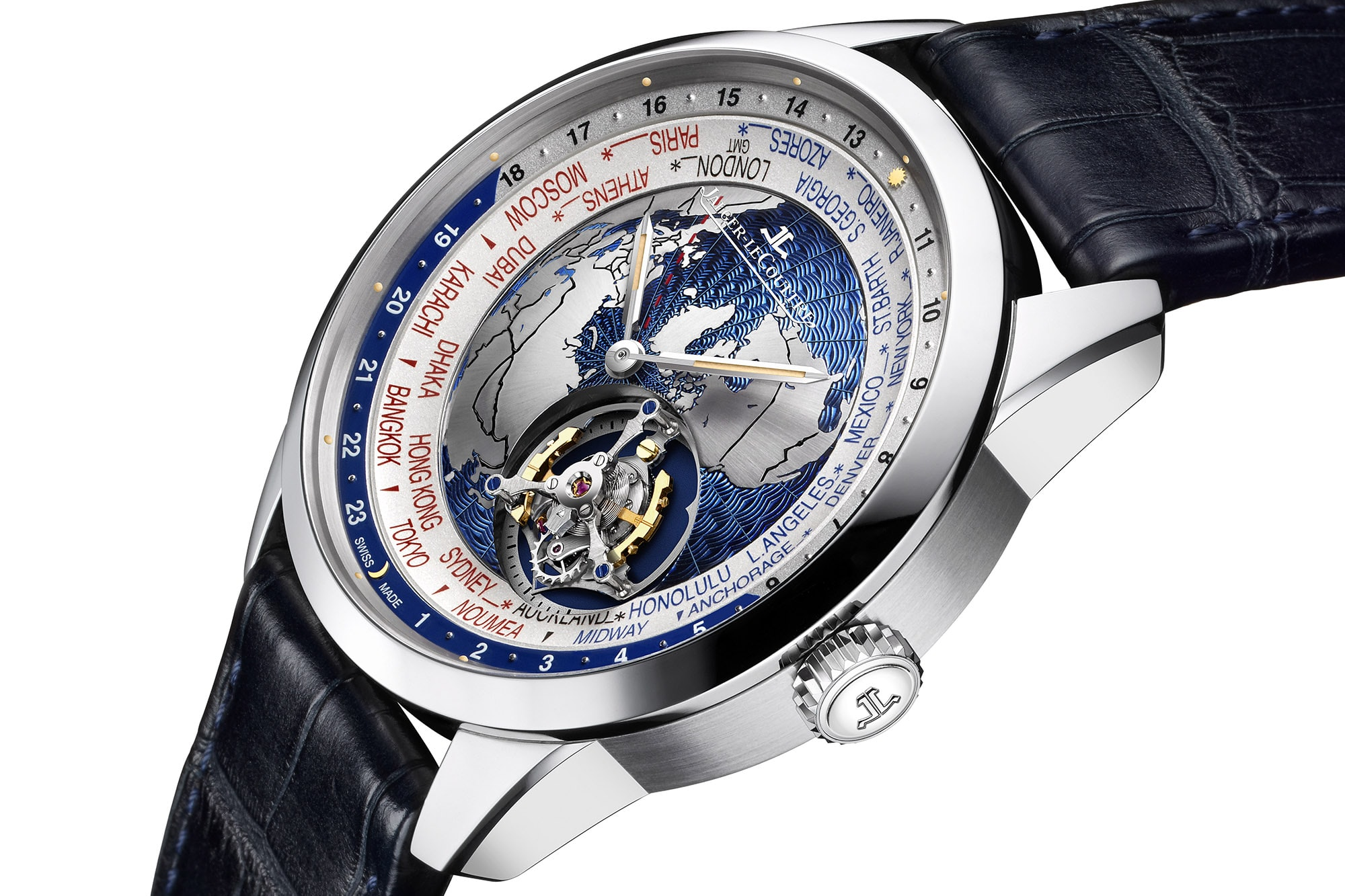 Introducing: The Jaeger-LeCoultre Geophysic Tourbillon Universal Time Introducing: The Jaeger-LeCoultre Geophysic Tourbillon Universal Time 555