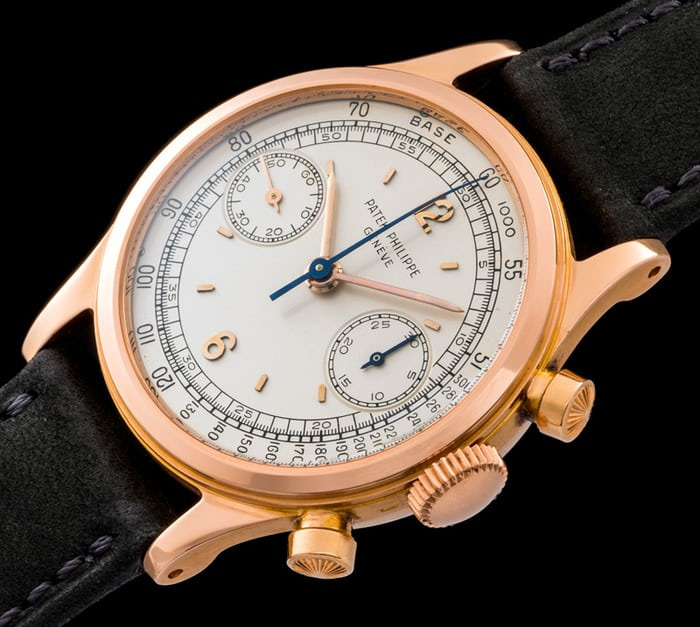 Patek Philippe Chronograph 1463 rose gold