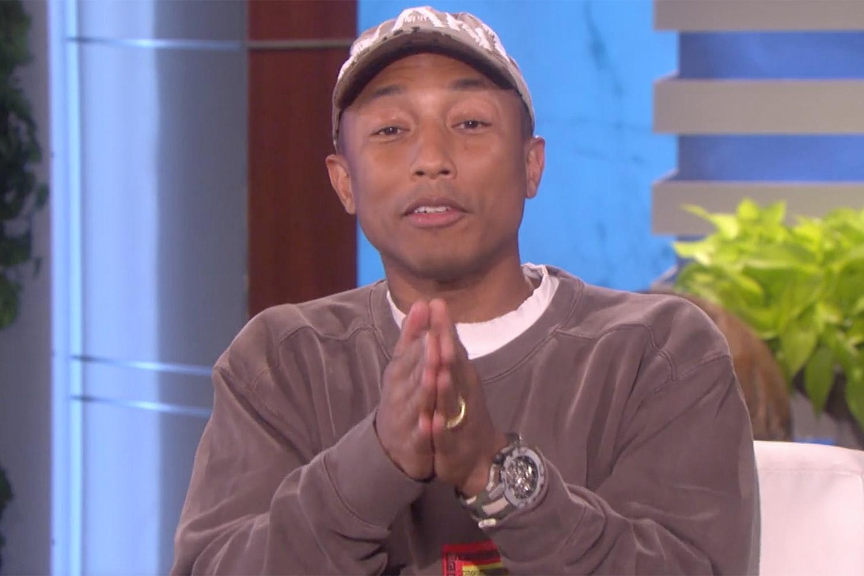 Watch Spotting: Pharrell Rocks The Richard Mille RM 031 High Performance On The Ellen Show (Like A Total Boss) Watch Spotting: Pharrell Rocks The Richard Mille RM 031 High Performance On The Ellen Show (Like A Total Boss) 2
