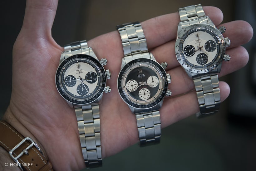paul newman rolex daytona talking watches