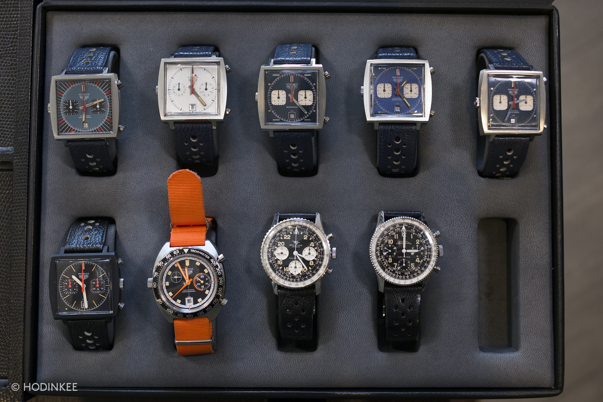 While Rolex might be his focus, Morgan King has some very special Heuers and Breitlings. Talking Watches: With Morgan King Talking Watches: With Morgan King  20013500 copy