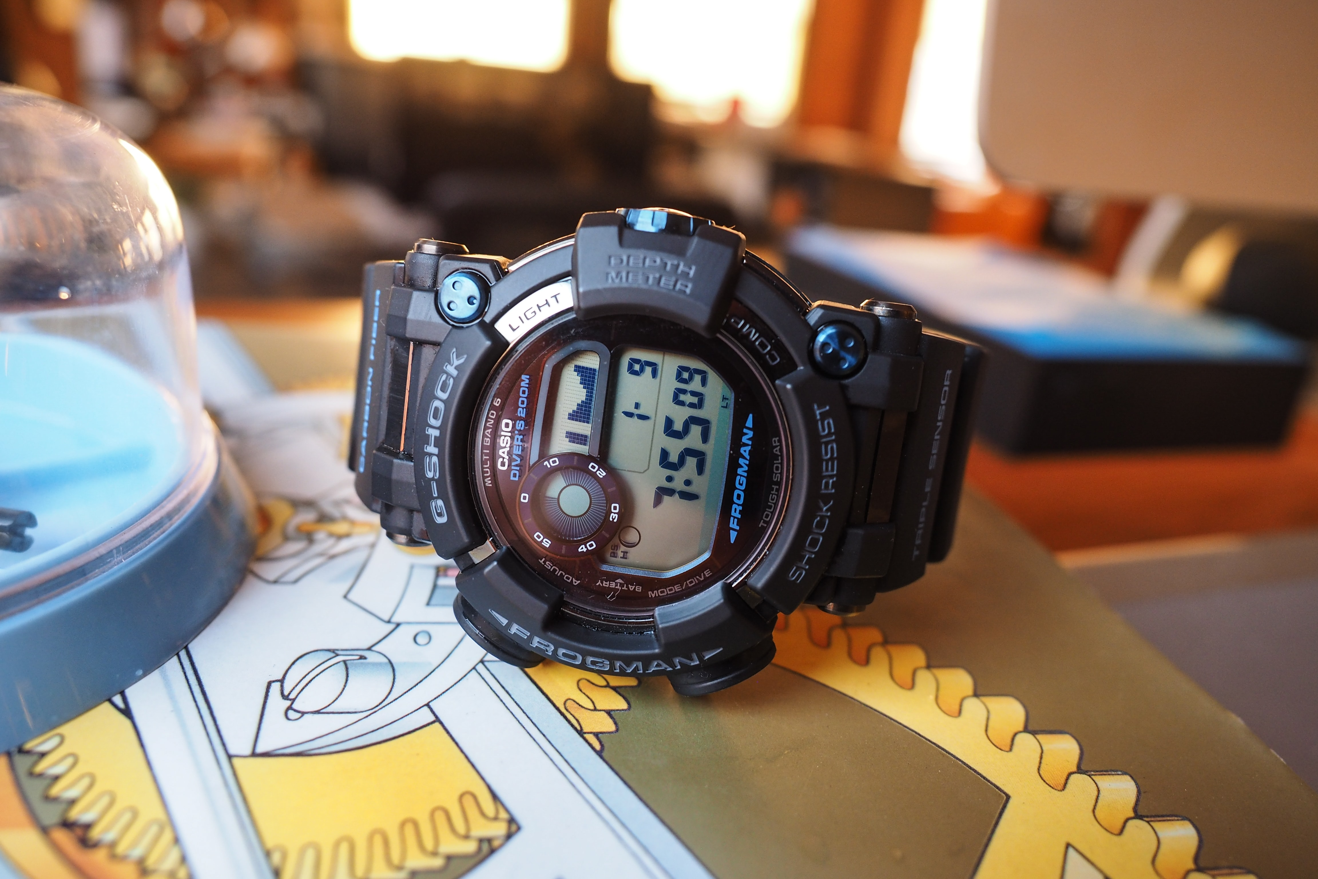 G-Shock Frogman GWF-D1000B A Week On The Wrist: The Casio 'Master Of G' G-Shock Frogman GWF-D1000B, A Great Watch To Wear For Punching A T. Rex A Week On The Wrist: The Casio 'Master Of G' G-Shock Frogman GWF-D1000B, A Great Watch To Wear For Punching A T. Rex P1091518