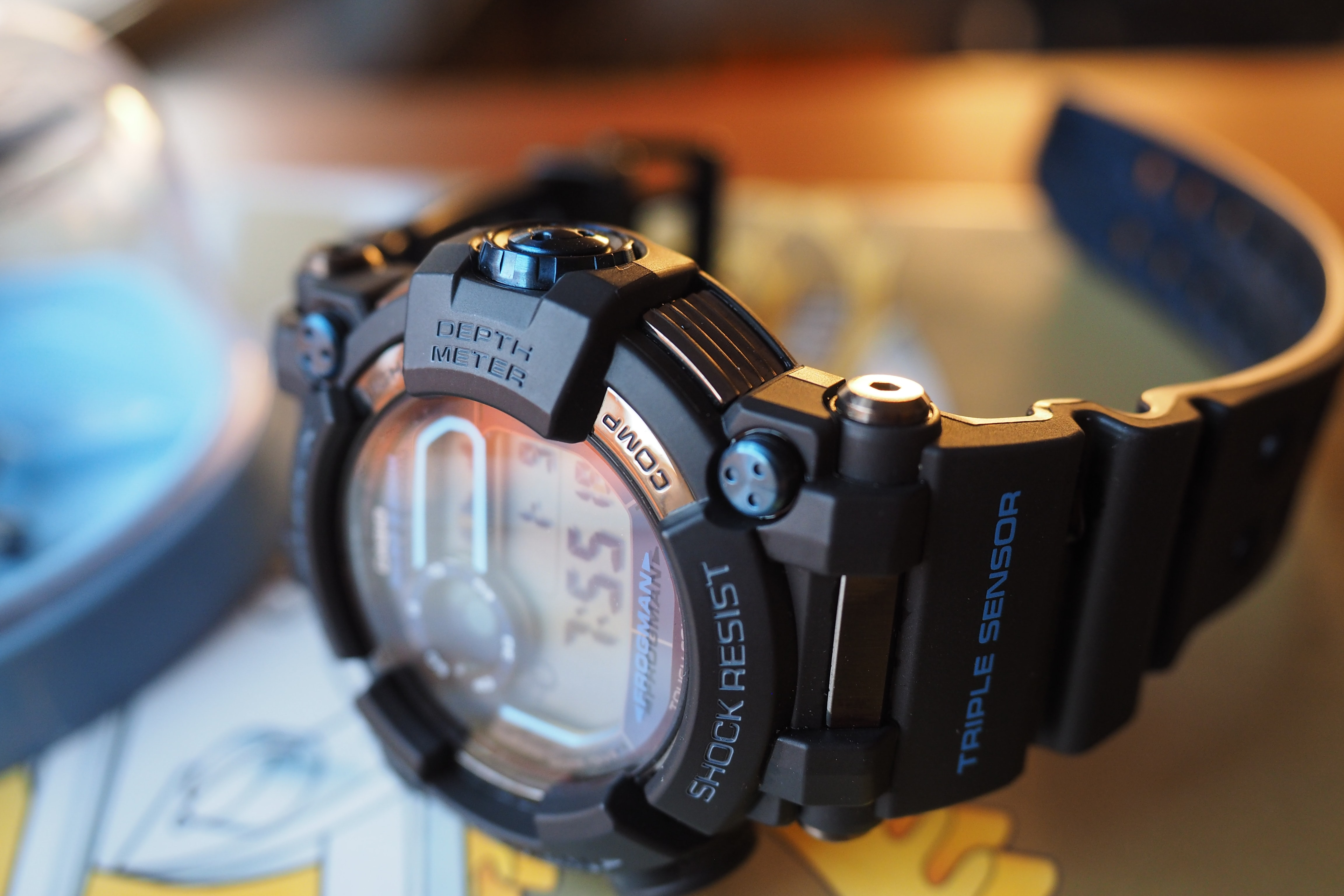 G-Shock Frogman GWF-D1000B case screw A Week On The Wrist: The Casio 'Master Of G' G-Shock Frogman GWF-D1000B, A Great Watch To Wear For Punching A T. Rex A Week On The Wrist: The Casio 'Master Of G' G-Shock Frogman GWF-D1000B, A Great Watch To Wear For Punching A T. Rex P1091519