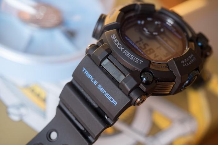 G-Shock Frogman GWF-D1000B lug attachment
