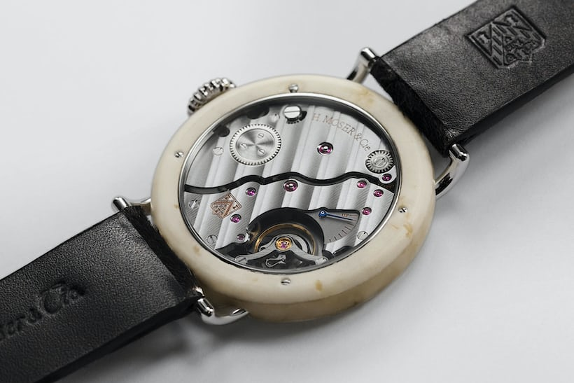 swiss cheese h moser watch
