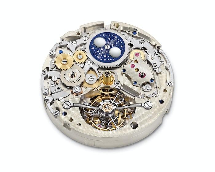 A. Lange & Söhne Tourbograph Perpetual 'Pour Le Mérite' perpetual calendar plate