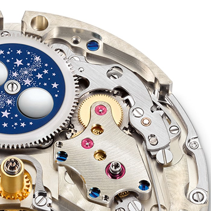 A. Lange & Söhne Tourbograph Perpetual 'Pour Le Mérite' perpetual calendar program wheel