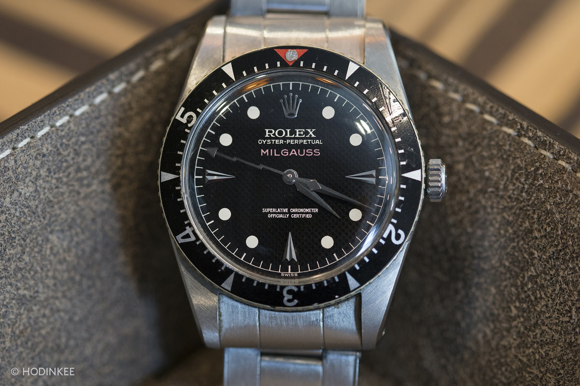 rolex milgauss 6541 morgan king In-Depth: The Rolex Milgauss Z-Blue Edition In-Depth: The Rolex Milgauss Z-Blue Edition 20013528 copy