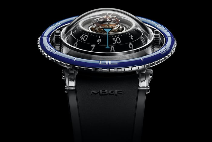 horological machine 7 mb&f dive watch